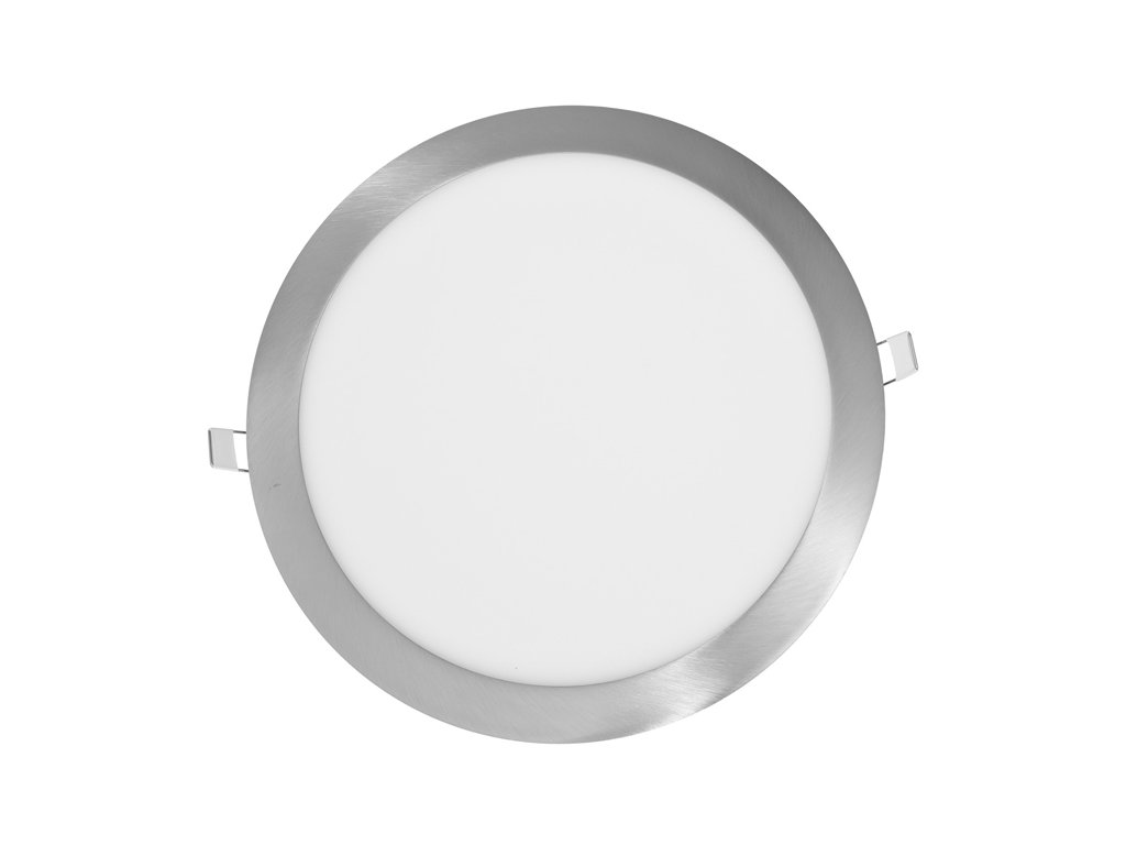LED panel Ecolite LADA 25W chrom kruh vestavný teplá bílá LED-WSL-25W/27/CHR. Na TopLux.cz skladem, ihned k odeslání