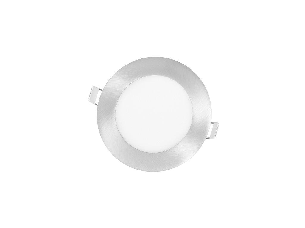 LED panel Ecolite LADA 6W chrom kruh vestavný teplá bílá LED-WSL-6W/27/CHR. Na TopLux.cz skladem, ihned k odeslání