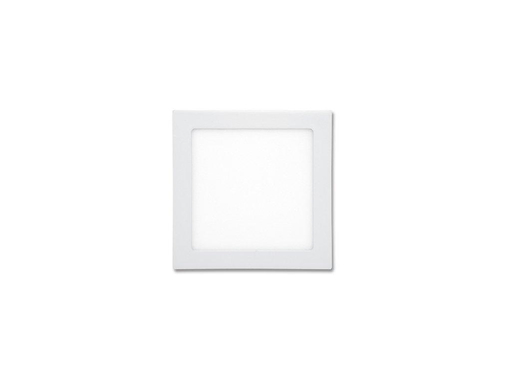 Bílý LED panel Ecolite RAFA 18W čtverec vestavný teplá bílá LED-WSQ-18W/2700. TopLux Praha skladem