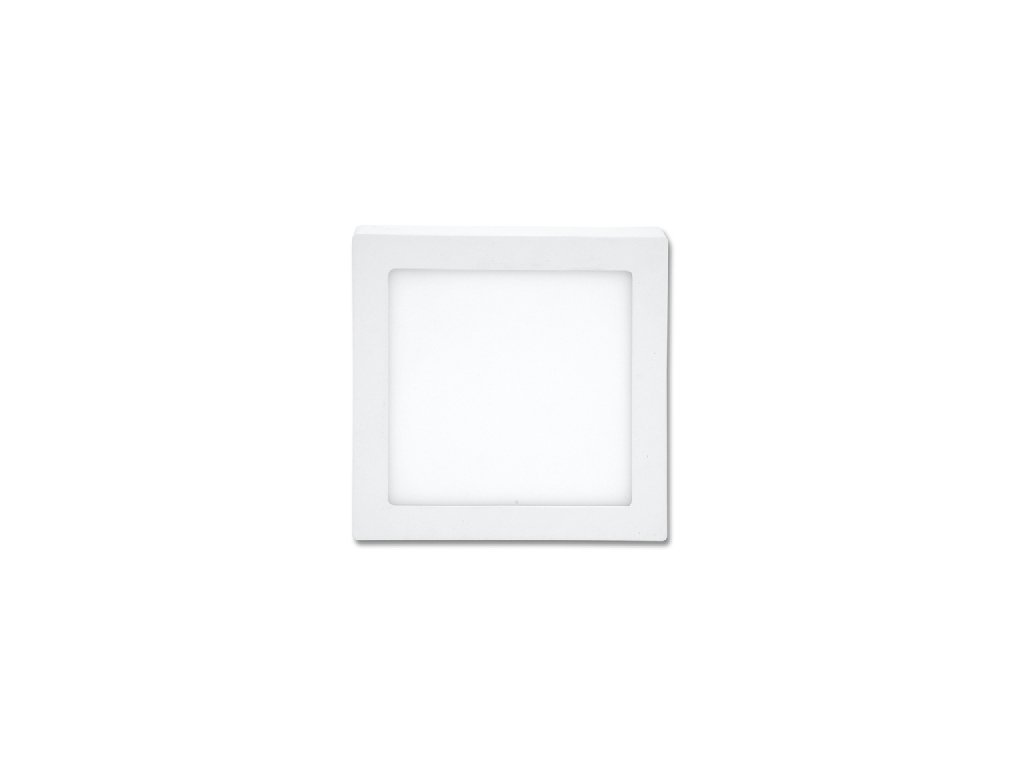 LED panel Ecolite RAFA 6W chrom čtverec vestavný teplá bílá LED-WSQ-6W/27/CHR. TopLux Praha skladem