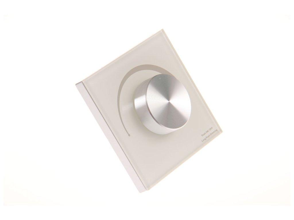 dimLED OV TRIAK KNS bílý nástěný ovladač stmívač pro LED osvětlení 069306