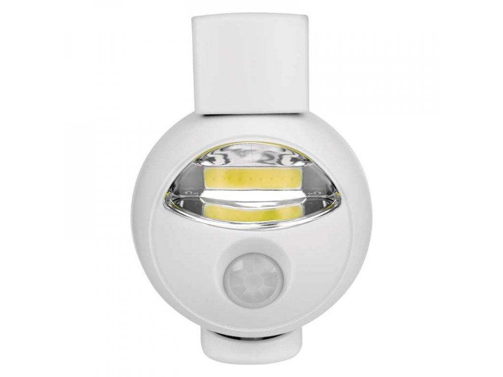 LED noční orientační světlo COD s PIR čidlem na 3x AA tužkové baterie P3311. TopLux Praha skladem