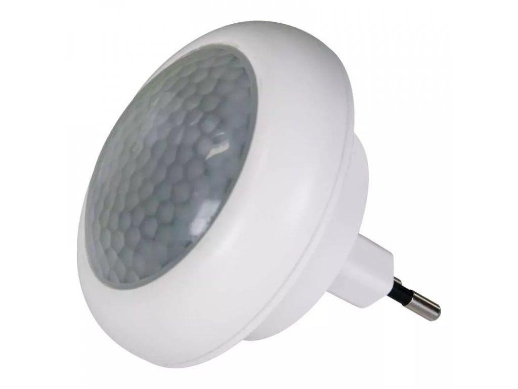 LED noční světlo s PIR čidlem detekce dne a noci detekce intenzity světla Praktické do ložnice či chodby LED noční orientační světlo s PIR do zásuvky senzor