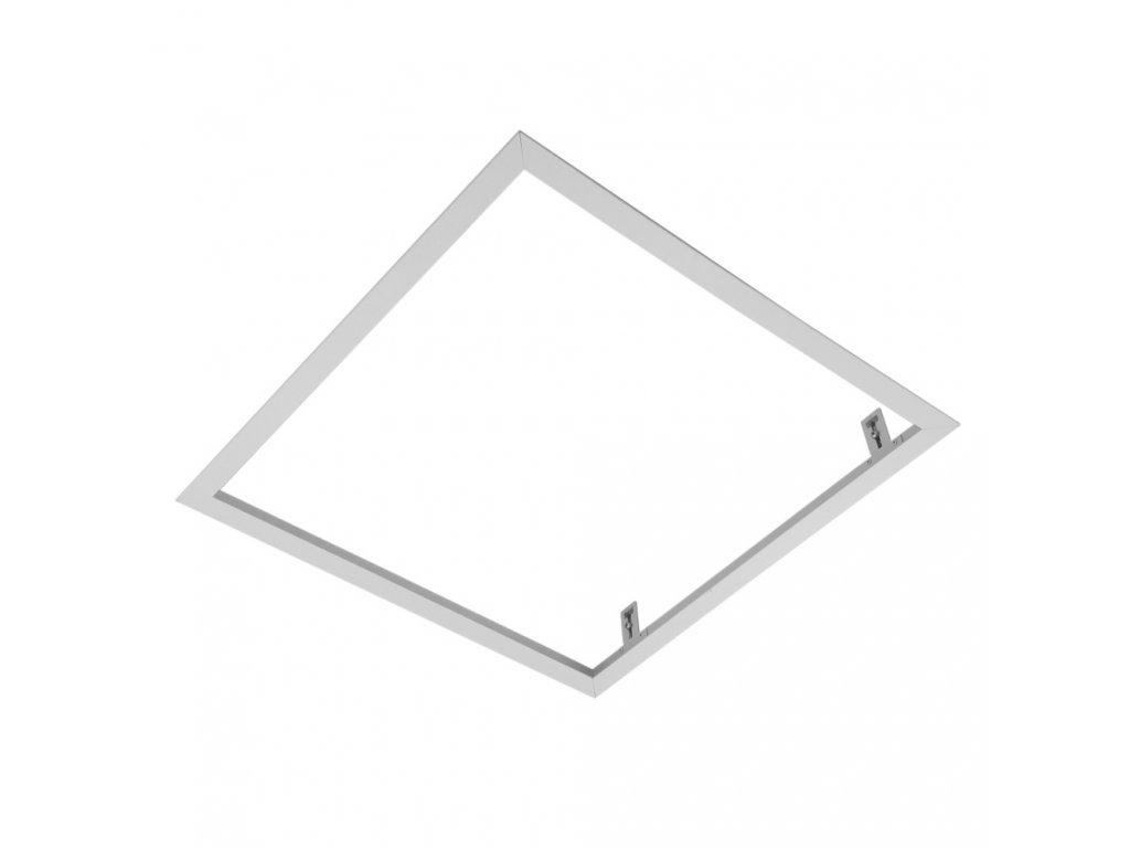 Rámeček pro vestavnou montáždo SDK sádrokartonu, montážní sada pro zapuštění LED panelu 60x60 do sádrokartonového podhledu