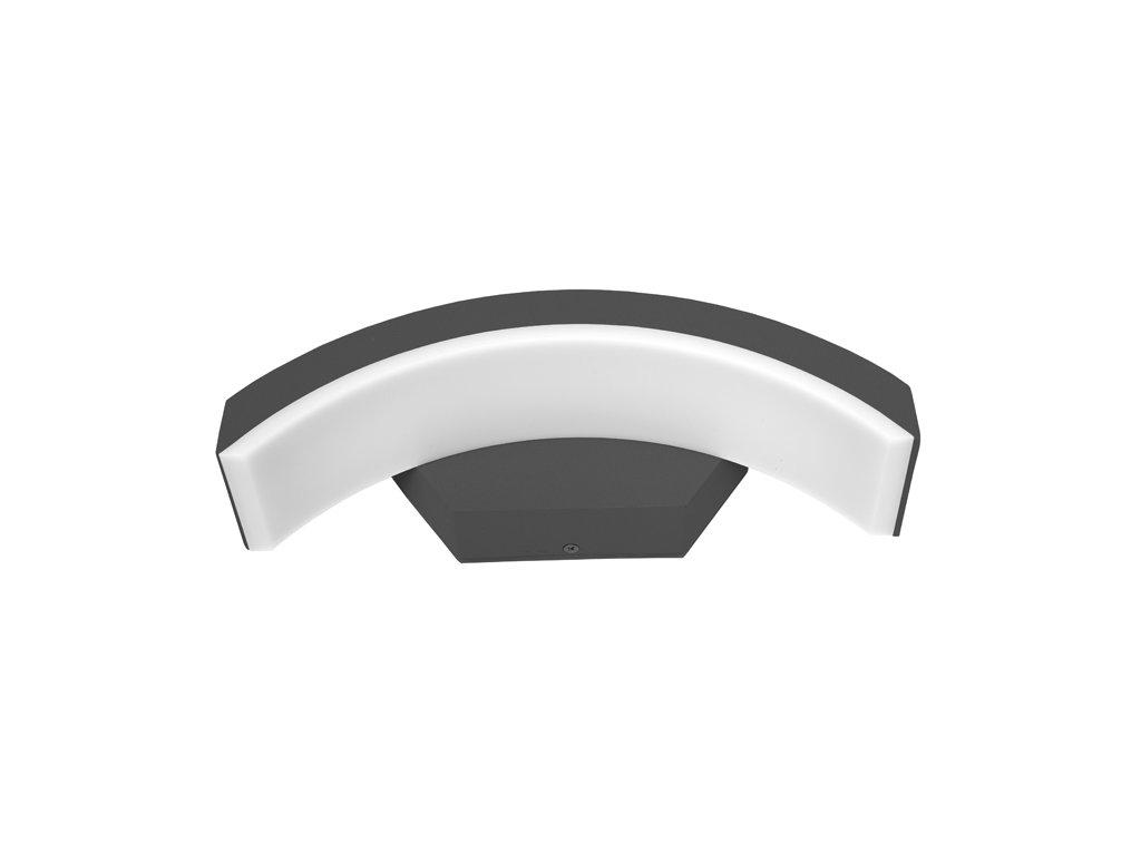 LED nástěnné svítidlo STYL 8W od firmy Ecolite vhodné pro montáž na stěnu například nad vchodové dvěře a díky vyššímu krytí IP54 lze jej namontovat jako osvětlení venkovních protorů, déšť či slunce není překážkou. Vyrábí se ve dvou provedeních, a to s horním nebo dolním prohnutím. Svítidlo STYL 8W Z1107-CR je vyrobeno z odolných materiálů, dokonale izolovaná svorkovnice poskytuje dostatečnou ochranu, tudíž je toto svítidlo vhodné do jakéhokoliv počasí. Čipy SMD zaručují vysokou svítivost a dlouhou životnost. Povrch hliníkového těla je chráněn odolnou a hrubou vrstvou, která připomíná povrch granitu.  Svítidlo nabízíme v černé nebo šedé variantě, nebo také varianty s pohybovím čidlem.