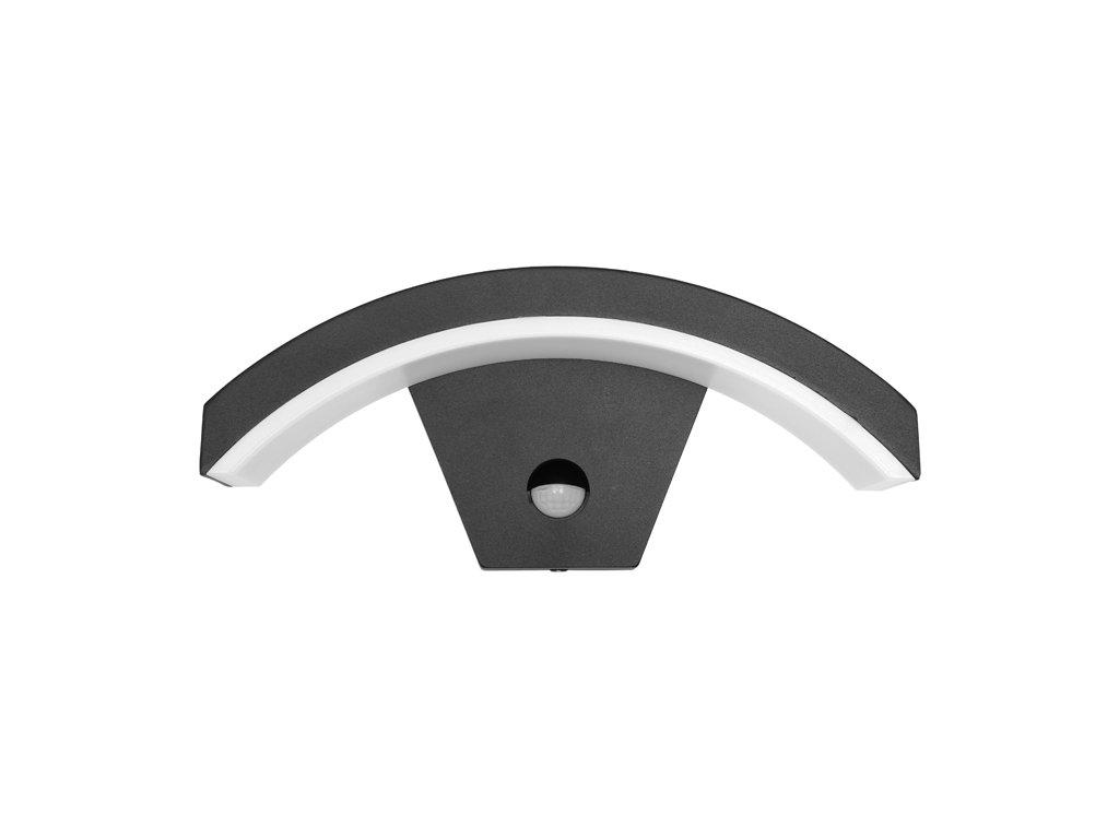 LED nástěnné svítidlo STYL 2 8W od firmy Ecolite vhodné pro montáž na stěnu například nad vchodové dvěře a díky vyššímu krytí IP54 lze jej namontovat jako osvětlení venkovních protorů, déšť či slunce není překážkou. Nová verze 2 disponuje PIR pohybovím senzorem, který pokryje 120° s účiností na vzdálenost 12m. Citlivost soumrakového čidla a doba sepnutí je nastavitelná pomocí regulátoru pod otáčivým víčkem senzoru.  Vyrábí se ve dvou provedeních, a to s horním nebo dolním prohnutím. Svítidlo STYL 2 8W Z1107/PIR-CR je vyrobeno z odolných materiálů, dokonale izolovaná svorkovnice poskytuje dostatečnou ochranu, tudíž je toto svítidlo vhodné do jakéhokoliv počasí. Čipy SMD zaručují vysokou svítivost a dlouhou životnost. Povrch hliníkového těla je chráněn odolnou a hrubou vrstvou, která připomíná povrch granitu.  Svítidlo nabízíme v černé nebo šedé variantě, nebo také varianty s pohybovím čidlem.