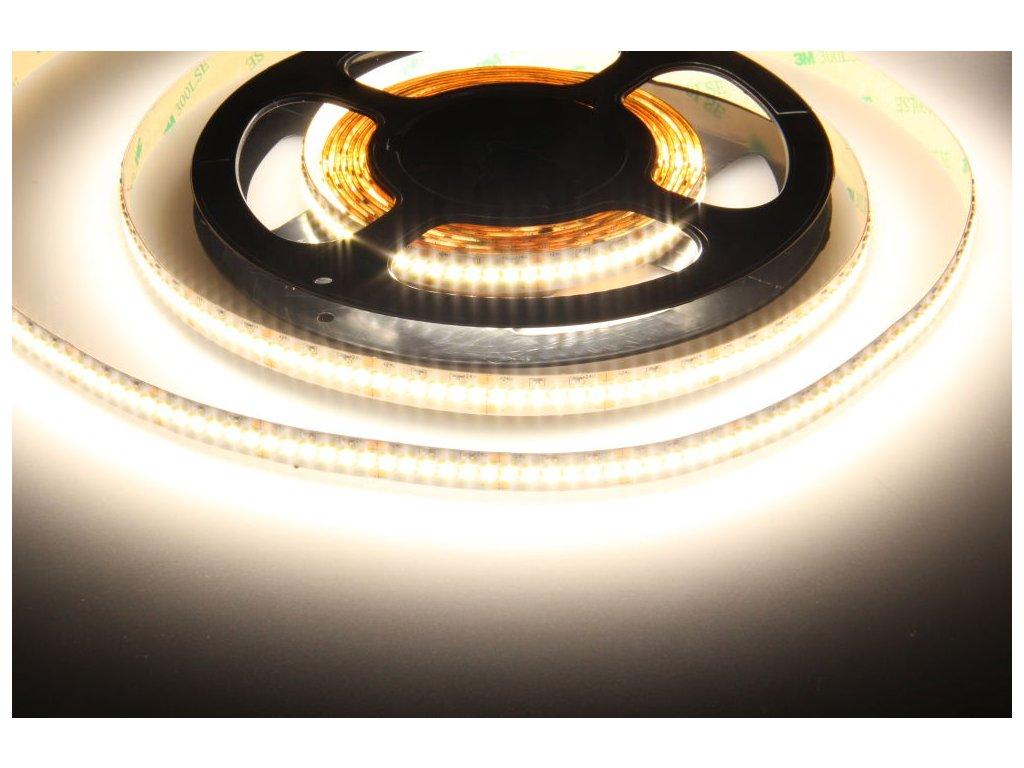 LED pásek vnitřní 24LINE 24V 24W/m vnitřní IP20 240LED/m PROFI kvalita, cena 240Kč/m, 240LED/m. Vysoká svítivost a záruka 3roky. TopLux Osvětlení Praha, Libeň
