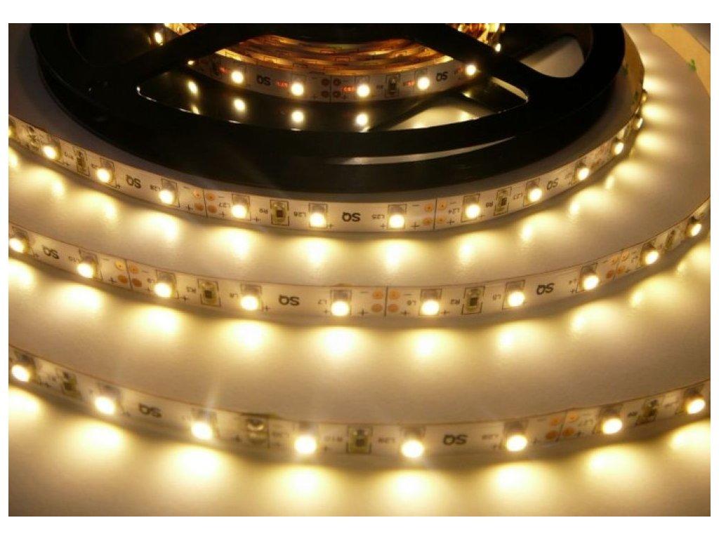LED pásek vnitřní IP20 SQ3-300 4,8W/m PROFI kvalita, cena 79Kč/m, 60LED/m. Vysoká svítivost a záruka 3roky. TopLux Osvětlení Praha, Libeň