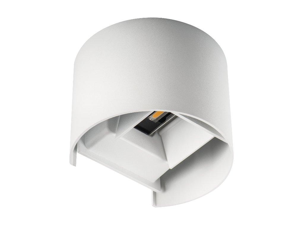 LED fasádní svítidlo REKA bílé zaoblené 7W neutrální bílá IP54 28993 Fasádní svítidlo kruhové 7W Nastavitelný úhel svitu 0-90° Krytí IP54 - vhodné do exteriéru Rozměry 100(š) x 100(v) x 100(h) mm Vhodné do jakéhokoliv počasí Designová krychlová fasádní svítidla řady REKA, jsou určená do jakéhokoli interiéru či exteriéru(na fasádu domu, balkón, či terasu). Hlavní výhodou těchto svítidel, je nastavitelný úhel svitu od 0° do 90°(viz obrázek č. 2). LED moduly jsou umístěny pod sebou vertikálně a lze kdykoliv ručně změnit úhel svitu. Díky krytí IP54 může být svítidlo vystaveno jakému koliv počasí. Tyto modeli mají vestavěný zdroj a čipy COB. TopLux Osvětlení Praha, Libeň, Sokolovská - skladem na prodejně za nízké ceny