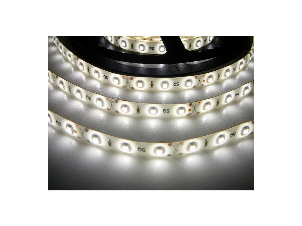 LED pásek vnitřní IP20 SQ3-300 4,8W/m PROFI kvalita, 300LED/m. Vysoká svítivost a záruka 2roky.