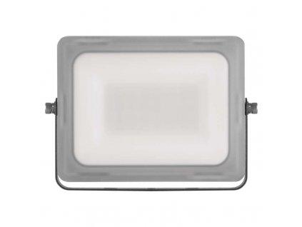 LED reflektor Emos ILIO 20W mléčný kryt IP65 ZS2520 vhodný i do exteriéru, svítivost 1600 lm, 4 000 K, barva světla neutrální bílá mechanická odolnost IK08