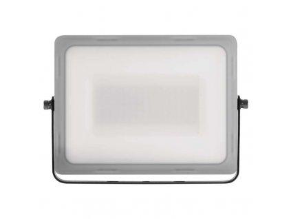 LED reflektor Emos ILIO 50W mléčný kryt IP65 ZS2550 vhodný i do exteriéru, svítivost 4000 lm, 4 000 K, barva světla neutrální bílá mechanická odolnost IK08