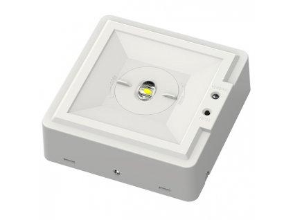 LED nouzové svítidlo LEDA od firmy Ecolite s vestavěným akumulátorem o kapacitě 1500mAh se při výpadku proudu postará až o 3 hodiny nepřerušovaného osvětlení. Při běžném provozu se svítidlo dobíjí a aktivuje se pouze při přerušení přívodu elektrické energie. TopLux osvětlení Praha, Sokolovská - skladem na prodejně