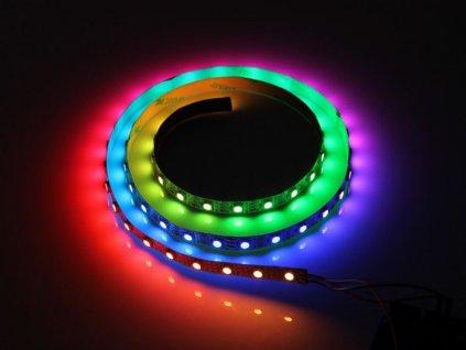 Digitální LED pásek nabízí možnost řízení každé diody samostatně díky čemu lze vytvářet vlastní motivy. Dvojitý přenos signálu zajistí, že při poruše LED diody ostatní diody stále správně fungují. Pro vytváření vlastního módu je potřeba využít k tomu určené ovladače. Nízké ceny. Praha Skladem.