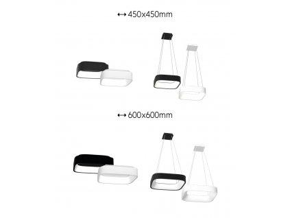 10601 immax neo topaja smart stropni svitidlo 45cm 36w cerne zigbee 3 0