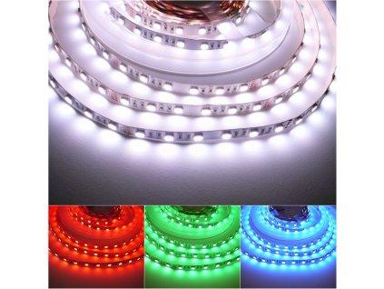 LED pásek RGBW 24V 19,2W studená bílá vnitřní  IP20 Počet diod 60Skladem na Toplux.cz, ihned k odeslání
