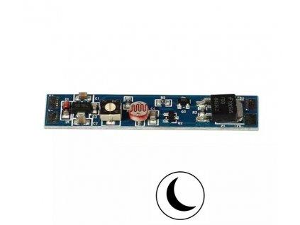 Soumrakový spínač do profilu LSS se senzorem pro LED pásky Soumrakový senzor (den/noc) LSS309 Cena 168 Kč Pro jednobarevné LED pásky Max. zatížení: 12V = 96W, 24V = 192W Citlivost na světlo: 2 – 60 lux Spínač je svou konstrukcí určený k vestavění do ALU profilů s LED pásky. Jednoduchá konstrukce a snadné nastavení pouze základních parametrů zaručuje spolehlivost a bezproblémové ovládání. Senzor se aktivuje pouze v noci nebo po nastavení Vám vybrané citlivosti 2 - 60 LUX. TopLux Osvětlení Praha Libeň, Sokolovská - skladem na prodejně za akční ceny a množstevní slevy
