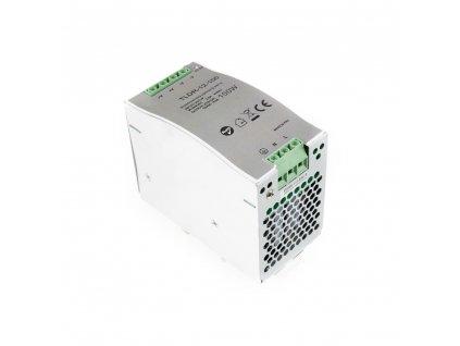 LED napájecí zdroj 12V 100W pro LED pásky - na DIN lištu do rozvodné skříně 8,3A 05405. Skladem na Toplux.cz, ihned k odeslání