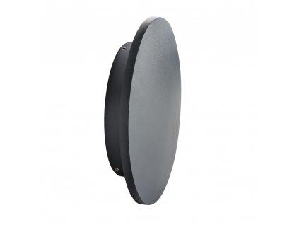 LED přisazené fasádní svítidlo FORRO 8W kruhové černé 4000K neutrální bílá 106486