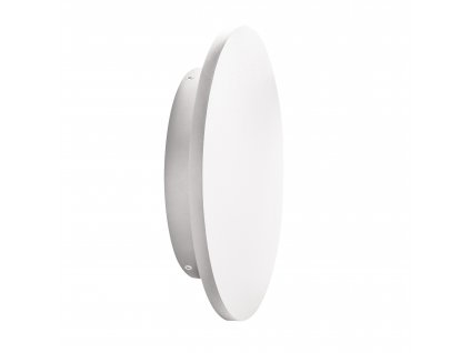 LED přisazené fasádní svítidlo FORRO 8W kruhové bílé 4000K neutrální bílá 106485