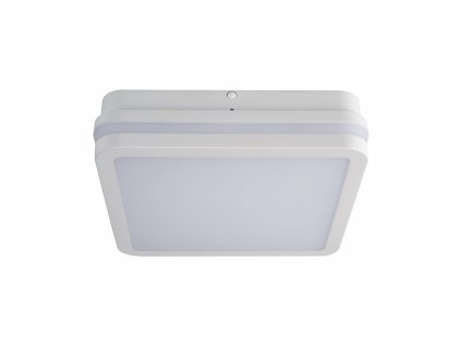 LED nástěnné venkovní svítidlo BENO 18W NW-L-W 4000K hranaté bílé IP54 32942