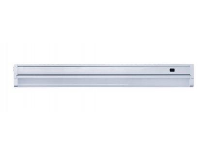 Solight LED stříbrné kuchyňské svítidlo 12W 58cm výklopné bezdotykové na mávnutí s kabelm do zásuvky WO214
