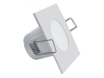 LED svítidlo BONO-S 5W vestavné bílé hranaté 4000K 9 cm GXLL023