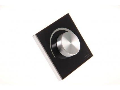 dimLED OV TRIAK KNS černý nástěný ovladač stmívač pro LED osvětlení 069307
