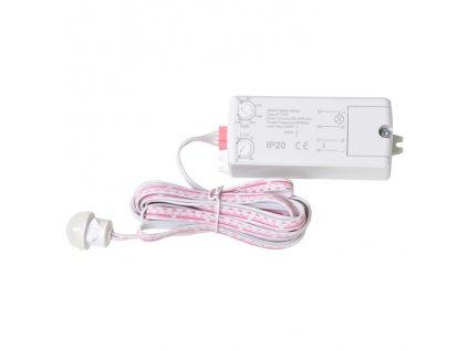ECOLITE pohybový senzor PIR zápustný nábytkový na 230V pro LED zařízení a páskyEST129-BI EAN: 8590849528572 Vestavěný pohybový senzor na 230V Dětekční úhel 120°/360° - dosah 8 metrů Nastavitelná citlivost na světlo 3-2000 lux Nastavitelná délka sepnutí 10s. až 15min. Příkon 0,5W Max. zatížený 500W