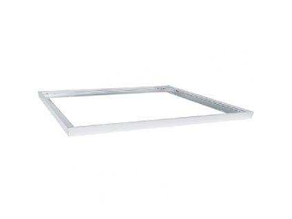 Hliníkový stříbrný rám 30x120 LED-GPL44-RAM/B montážní sada pro přisazení LED panelu ke stropu