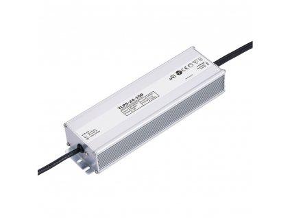 LED napájecí zdroj 24V 150W pro LED pásky - voděodolné trafo 6,3A IP67 05505