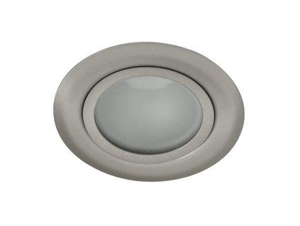 Nábytkové svítidlo vestavné kulaté na 12V s patící G4. Velmi často se těmito svítidly přisvicují kuchyňské linky, skříňky, poličky a jiná dekorační osvětlení na různých místech.