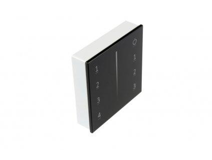 Černý dálkový ovladač dimLED OV WRF-S-4CH pro jednobarevné LED pásky