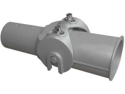 Kloubový úhlově nastavitelný adaptér redukce na sloup stožár VO veřejného pouličního osvětlení