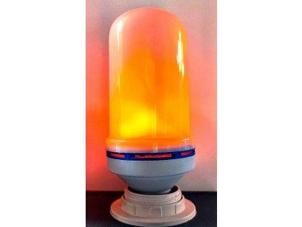 LED žárovka FLAME 3W teplá bílá s efektem plamenu E27
