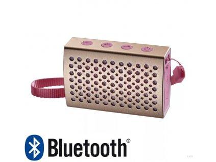 Emos TIFFY E0076 - výkon 5W, Výdrž až 6hodin - 800mAh, Bluetooth 4.0 - dosah až 10m, AUX Možnost telefonování, Vodotěsný IP67 do bazénu