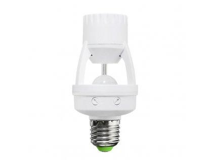 Solight PIR senzor pro E27 žárovku bílý WPIR06