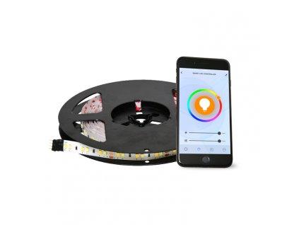 DX-SMD5050-RGBW/5M/TUYA LED RGB pásek, celá sada, ovládání přes telefon