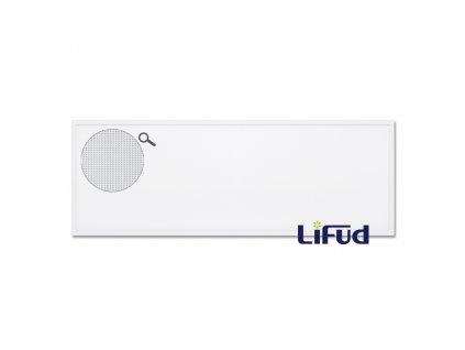 Obdelníkový velký LED panel Ecolite LED-GPL44/B-45/UGR/BI do rastrového podhledu 30x120cm