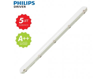 LED prachotěsné svítidlo 52 120cm do průmyslového prostředí dílen skladu