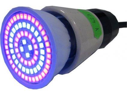 GROW LED žárovka E27 5W na pěstování bylin rostlin konopí a trávy
