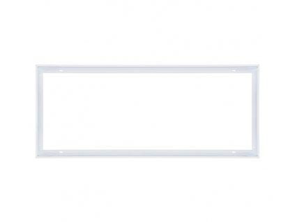 Bílý montážní rámeček 30x120 pro LED panel Ecolite obdelníkový