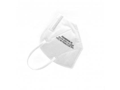 Český bílý respirátor třídy FFP2 NR PRIMUS kvalitní tuzemský účinná filtrace