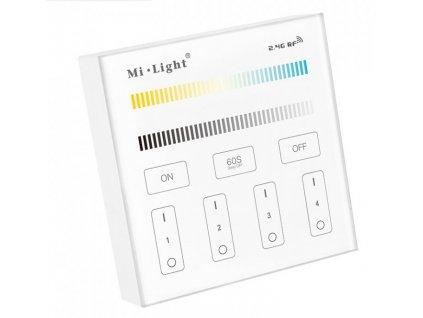 Screenshot 2021 05 03 Nástěnný bateriový RF ovladač pro dvoubarevné CCT LED pásky 4xCH, 2,4 GHz, 2xAAA dosah 30 metrů [...]