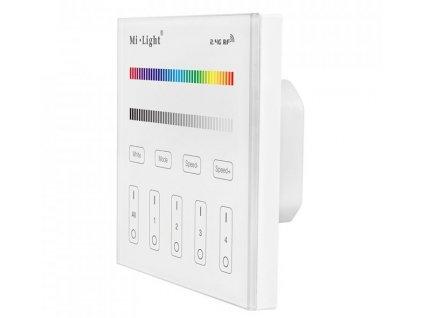 Screenshot 2021 05 03 Nástěnný RF ovladač pro RGB nebo RGBW LED pásky 4xCH, 2,4 GHz, 230V dosah 30 metrů Mi Light MiB[...](5)