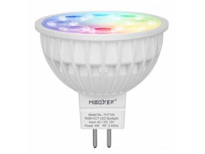 Mi Light LED žárovka MR16 12V RGR CCT všecny barvy