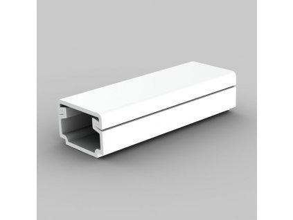 Nástěnná kabelová lišta hranata 15x10mm malá nejmenší