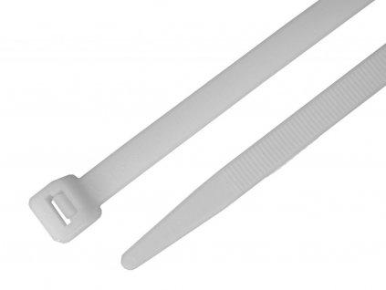 Stahovací pásek bílý přírodní