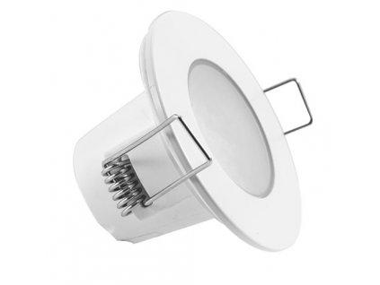LED stropní svítidlo UFO 5W, světlo do podhledu sádrokartonu stropu kulaté kruhové s pružinami pro zapuštění do stropu bílé barvy TopLux kvalita cena skladem