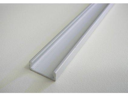 Hliníkový profil M2 chladící lišta pro LED pásek standartní levná s krytem difuzorem TopLux Osvětlení Praha skladem ihned